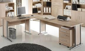 Schreibtisch Aus Eiche Winkelkombi Schreibtisch Sonoma Eiche Inkl Rollcontainer