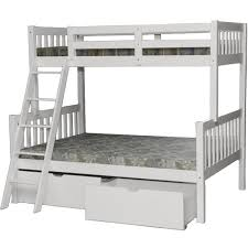 Bunk Bed White Verona White Bunk Bed Beds With Drawers