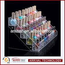 6 tier acrylic plastic material wholesale nail polish desktop