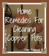 cleaning copper pots home remedies you can use