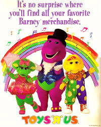 barney toys r us ad by bestbarneyfan on deviantart