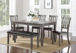 cosgrove grey 5pc dining set lexington overstock warehouse