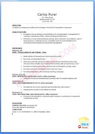 cover letter sample resume for bank ba sample resume for