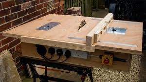 Free Diy Router Table Plans by Homemade Table Saw With Built In Router And Inverted Jigsaw 3 In 1
