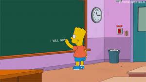 Bart Simpson Meme - the gag is over bart simpson s chalkboard parodies know your meme