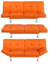 Orange Sofa Bed Orange Futon From Target I Always Wanted