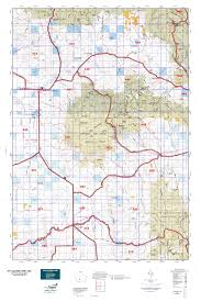 Montana Land Ownership Maps by Mt Deer Elk Gmu 452 Map Mytopo