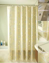 Neutral Shower Curtains Sheer Shower Curtain Best Neutral Shower Curtains For Every
