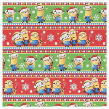 minion gift wrap disney paper roll wrapping paper ebay