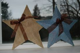 nap time crafts burlap stars