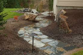 Backyard Flagstone How To Install Flagstone Landscaping Network