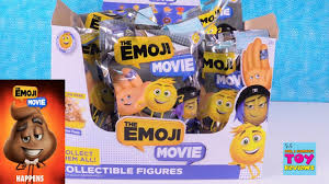 The Movie Blind The Emoji Movie Blind Bag Figures Full Box Toy Review Golden