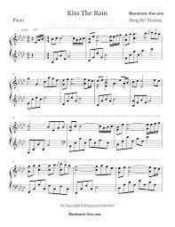 download tutorial kiss the rain kiss the rain sheet music yiruma piano sheet music piano sheet