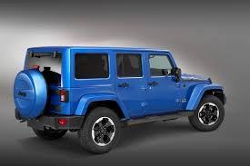 european jeep wrangler jeep prepares wrangler polar special edition for iaa