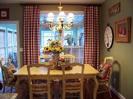 Toile Cafe Curtains Gingham Kitchen Curtains Kitchen Curtains D礬cor