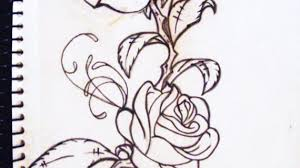 vine drawing designs drawings of vines and leaves roses and