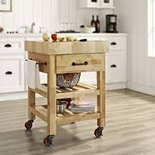 wood kitchen island cart magnificent square shape brown wooden kitchen island cart features