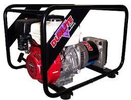 dunlite generators petrol portable generators