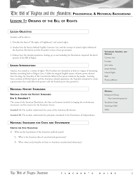 bill of rights worksheets bill of rights worksheets studies