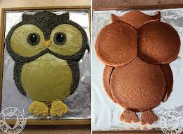 recepty owl cakes owl and cake