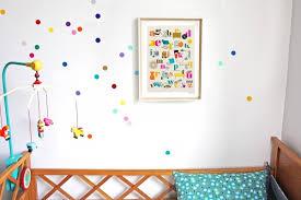 stikers chambre enfant couleur pour chambre bebe 2 stickers chambre b233b233