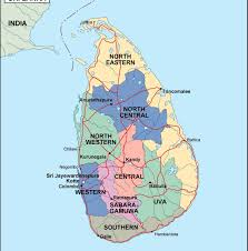 Map Of Sri Lanka Srilanka Political Map Order And Download Srilanka Political Map
