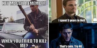 Supernatural Memes - side splitting supernatural memes cbr