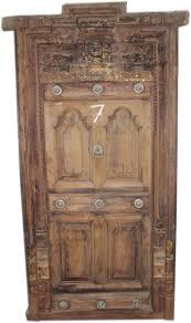 Wooden Door Old Wooden Door Provide Vintage Look To Your Home South Indian