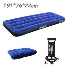 intex 76 191 22cm single size air mattress 68950 inflatable bed
