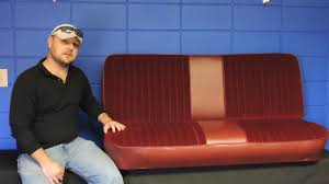 Vintage Ford Truck Seat Covers - 1973 1979 ford truck bench seat cover f100 f150 f250 youtube