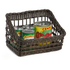 Home Organization Products by Kitchen Pantry Wicker Baskets And Storage Solutions The Basket Lady
