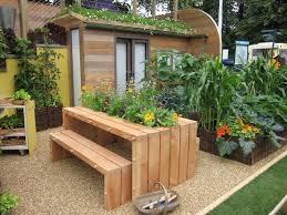 double small garden design idea lawn garden small yard landscape