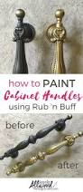 How To Clean Kitchen Cabinets Before Painting by Best 20 Painting Hardware Ideas On Pinterest Paint Door Knobs