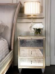 nightstand breathtaking white mirrored nightstand beautiful 18