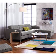 over the couch lighting big dipper arc brushed nickel floor l big dipper grey couches