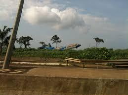 Guinea Ecuatorial Flag Jungle Eats Plane Malabo Airport Equatorial Guinea My Photos