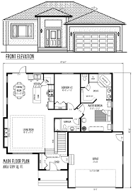 bungalow garage plans modern house plans plan with attached garage addition ranch