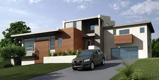 amazing modern graded house with iron frames and simple pool for