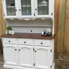 Hutch Kitchen Cabinets Kitchen Makeovers Buffets And Cabinets White Wood Buffet And