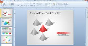 pyramid template pyramid logo template vector illustration