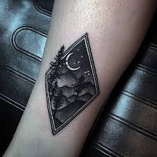50 small nature tattoos for outdoor ink design ideas leg
