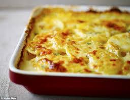 creme fraiche cuisine food special crème fraîche potato dauphinoise with thyme daily