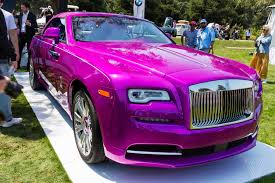 roll royce purple rolls royce the verge