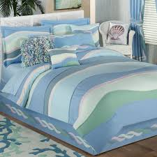 Coastal Bedding Sets Waves Lightweight Coastal Comforter Set Picture With Breathtaking