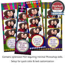 mardi gras photo booth mardi gras 3 up strips photo booth template