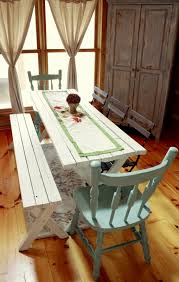 Indoor Picnic Table Dining Room Picnic Table 14343