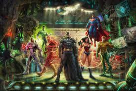 the justice league paintings u0026 art thomas kinkade memphis gallery
