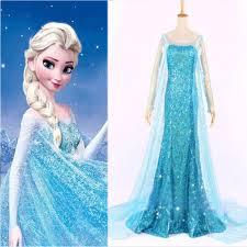 elsa halloween costume frozen ice queen girls elsa inspired halloween costume girls