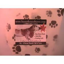 paw print tissue paper bassethoundtown miscellaneous gift bag with paw print tissue