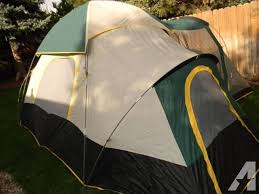 ozark trail 6 person dome tent with extended awning porch 17 u0027 x